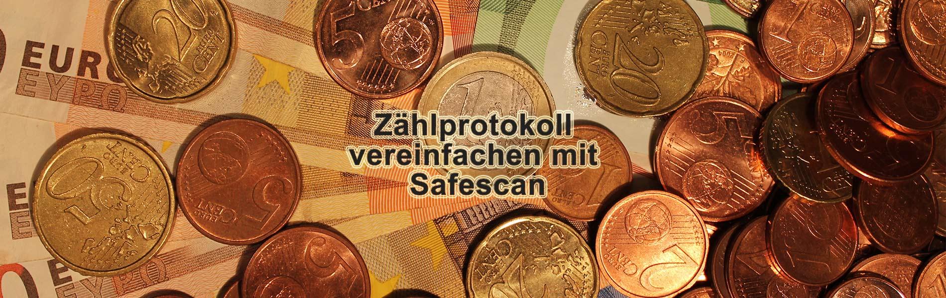 Zählprotokoll vereinfachen mit Safescan Geldzählmaschine inkl. Thermodrucker